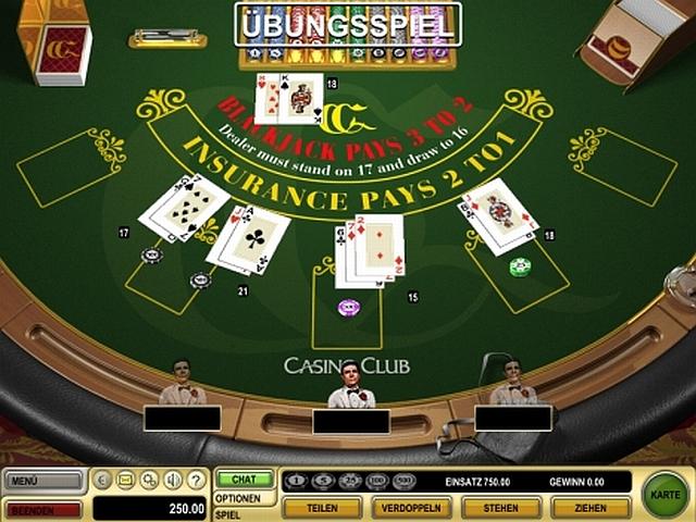 blackjack-tisch