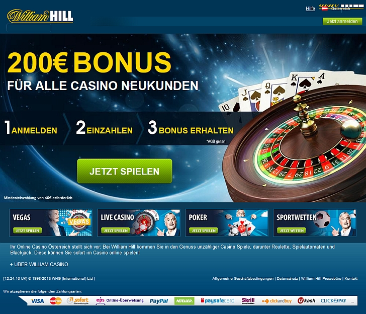 online casino william hill online um geld spielen