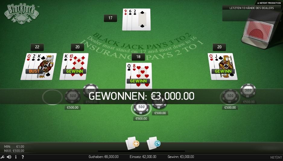 blackjack-spiel