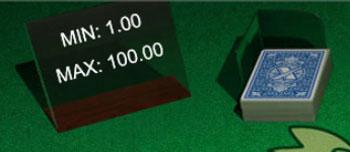 Tischlimits beim Blackjack