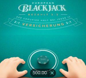 Blackjack Einsaetze