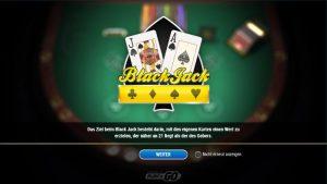 Luckydays Blackjack Multihand Vorschau