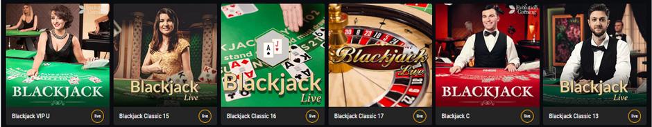 Betamo Live Blackjack Vorschau