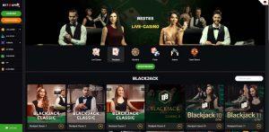 Betamo Vorschau Blackjack Spiele