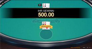 BobCasino Atlantic City Blackjack Gewinn