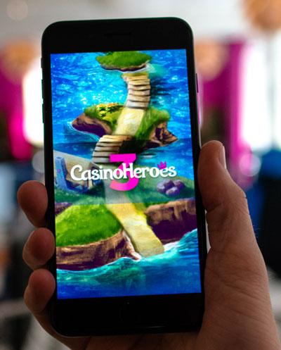 Casino Heroes mobile