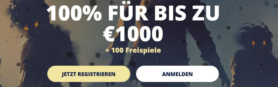Casino Room Bonus Banner