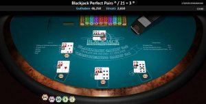 CasinoHeroes Blackjack Perfect Pairs Vorschau Gewinn
