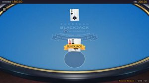 CasinoHeroes European Blackjack Vorschau spielen