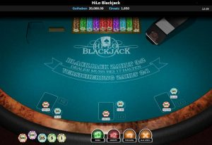 CasinoHeroes HiLo Blackjack Vorschau spielen