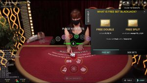 CasinoRoom Freebet Blackjack spielen