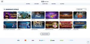 CasinoRoom Vorschau angesagte Spiele