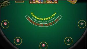 NYSpins Multi Hand Blackjack Vorschau Einsaetze
