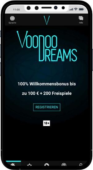VooDoo Dreams mobile