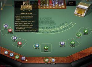VooDooDreams Perfect Pairs Blackjack Regeln
