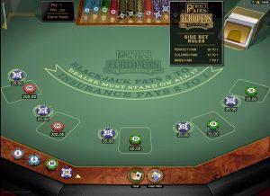 VooDooDreams Perfect Pairs Blackjack Sidebets