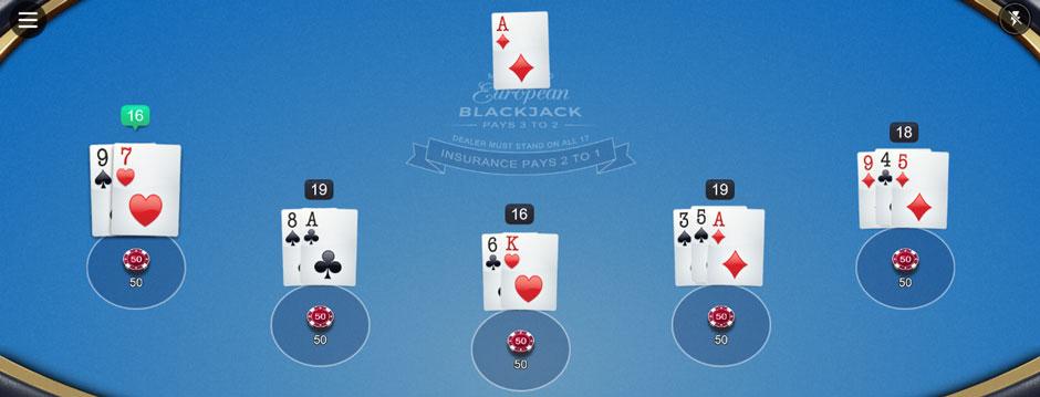 Blackjack Strategie dem Dealer nachspielen